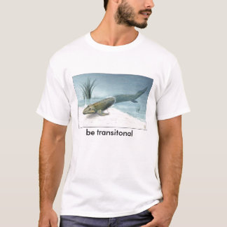 nsf-illustration-of-tiktaalik, be transitonal T-Shirt