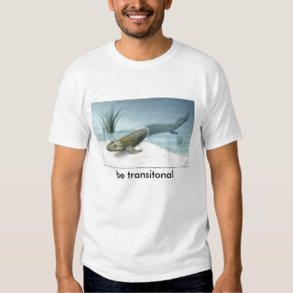 nsf-illustration-of-tiktaalik, be transitonal tshirt