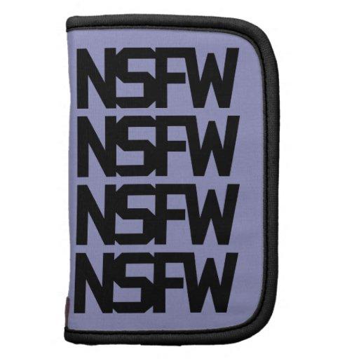 NSFW in Black & White Folio Planner