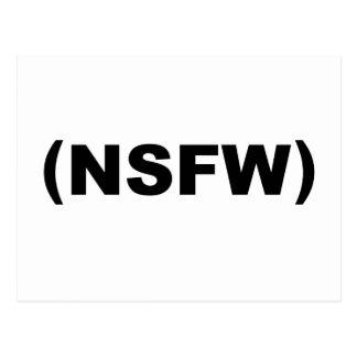 NSFW no seguro para el trabajo Postal
