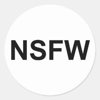 NSFW ETIQUETAS REDONDAS