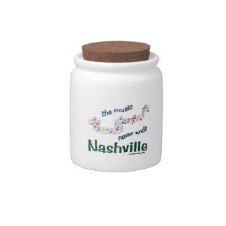 Nsicville Music Notes Souvenirs Candy Jars