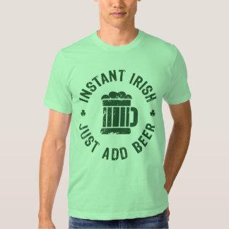 NSPBgtxt RND Instant Irish Just Add Beer T-Shirt