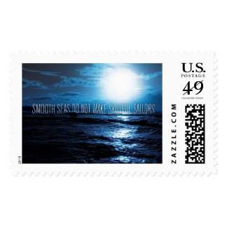 nspirational and motivational quotes postage stamp