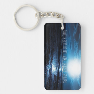 nspirational and motivational quotes Single-Sided rectangular acrylic keychain