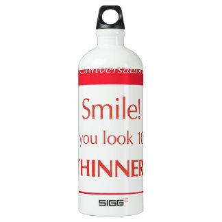 N'Spirational Conversations Paks Aluminum Water Bottle