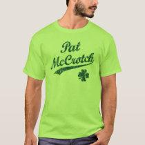 NSPNdrktxt Vintage Pat McCrotch Funny T-Shirt