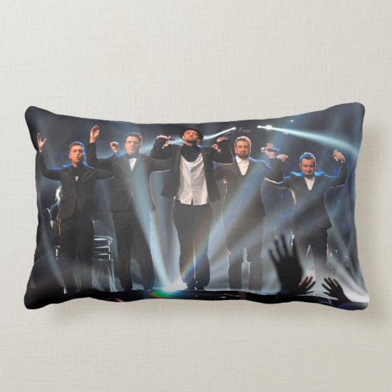 NSYNC   2013 MTV Music Video Awards Lumbar Pillow