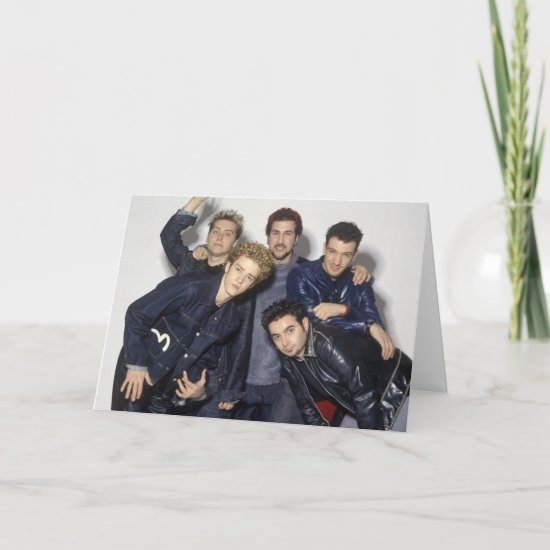NSYNC Portrait Card