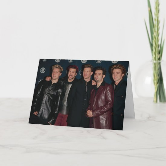 NSYNC | The Grammys Card