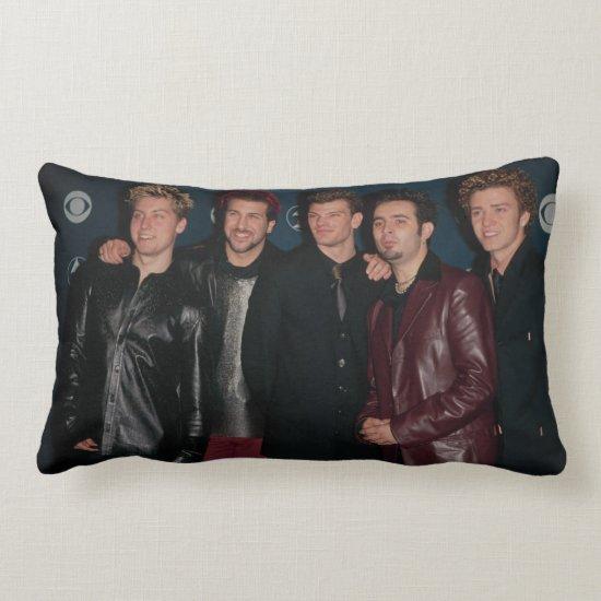 NSYNC   The Grammys Lumbar Pillow