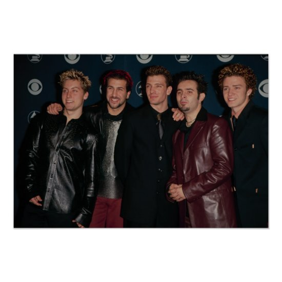 NSYNC   The Grammys Poster