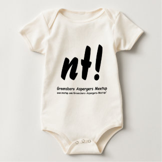 nt! Greensboro Aspergers Meetup and web Baby Bodysuit