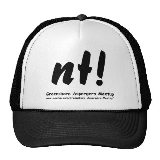 nt! Greensboro Aspergers Meetup and web Trucker Hats