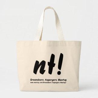 nt! Greensboro Aspergers Meetup and web Tote Bags