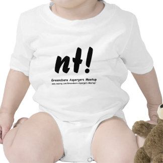 nt! Greensboro Aspergers Meetup and web Tshirt