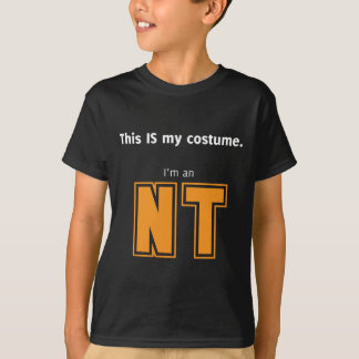 NT Halloween Costume for Aspies T-Shirt