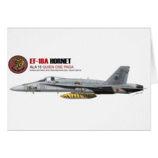 NTM08 EF-18A Spain Air Force Card