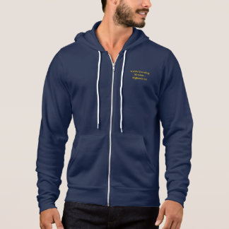 NTM-A Shohna-Ba-Shohna zippered hoodie