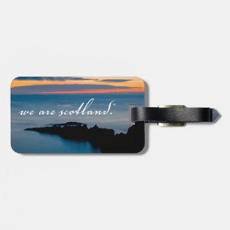 NTSUSA - Somos Escocia - etiqueta del equipaje Etiqueta De Maleta
