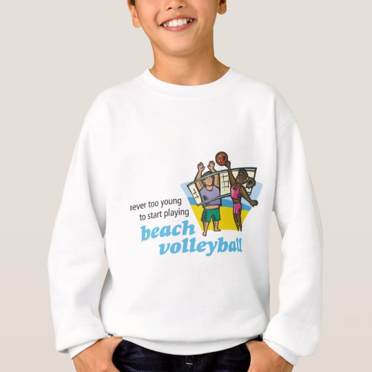 NTY_beachvolleyball_v1 Sweatshirt