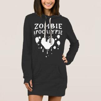 Nu Goth Gothic Licked by a Zombie Apocalypse Emo Dress