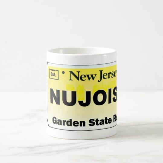 NU JOISY License Plate Coffee Mug