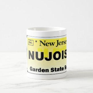 NU JOISY License Plate Coffee Mugs