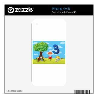 nu_numbers2_03 iPhone 4 skin