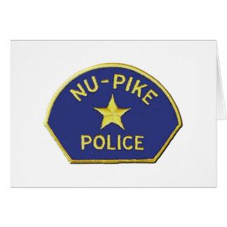 Nu-Pike Police Card