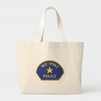 Nu-Pike Police Large Tote Bag