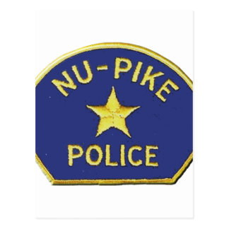 Nu-Pike Police Postcard