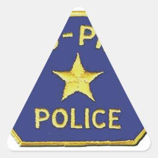 Nu-Pike Police Triangle Sticker