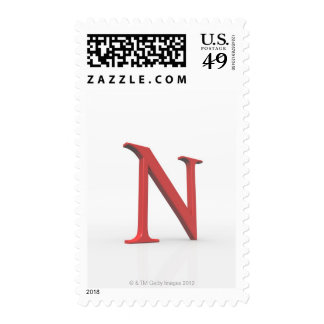Nu Postage Stamp