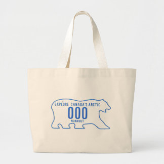 NU sample Large Tote Bag