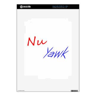 NU Yawk Calcomanías Para iPad 2