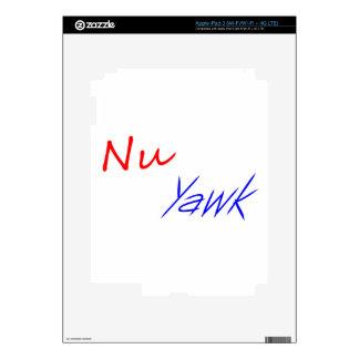 NU Yawk iPad 3 Skins