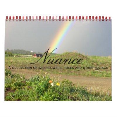 Nuance Wall Calendar