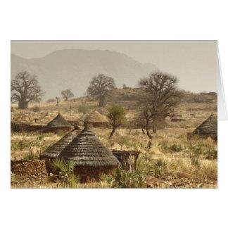 Nuba Mountains, Nugera village Card