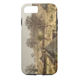 Nuba Mountains, Nugera village iPhone 8/7 Case