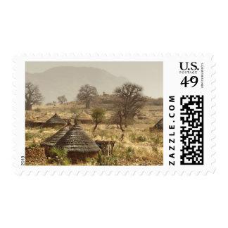 Nuba Mountains, Nugera village Stamp