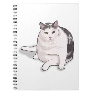 Nubbie the Japanese Bobtail Notebook