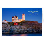 Nubble at Christmas Greeting Cards