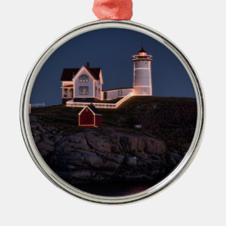 Nubble at Christmas Ornament