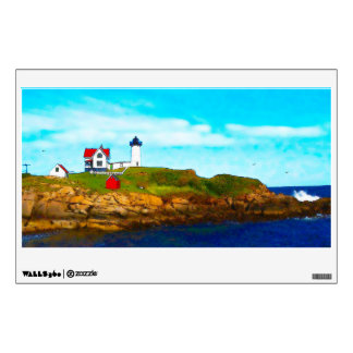 Nubble (Cape Neddick) Lighthouse Wall Decal