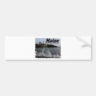 Nubble Light Bumper Sticker