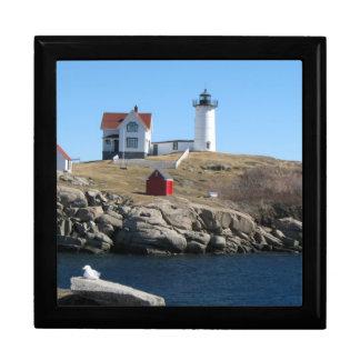 Nubble Light Cape Neddick Maine Jewelry Box