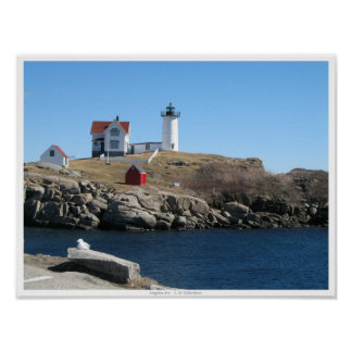 Nubble Light Cape Neddick Maine Poster