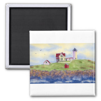 Nubble Light House York Maine Magnet