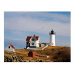 Nubble Light Lighthouse York Maine Postcards